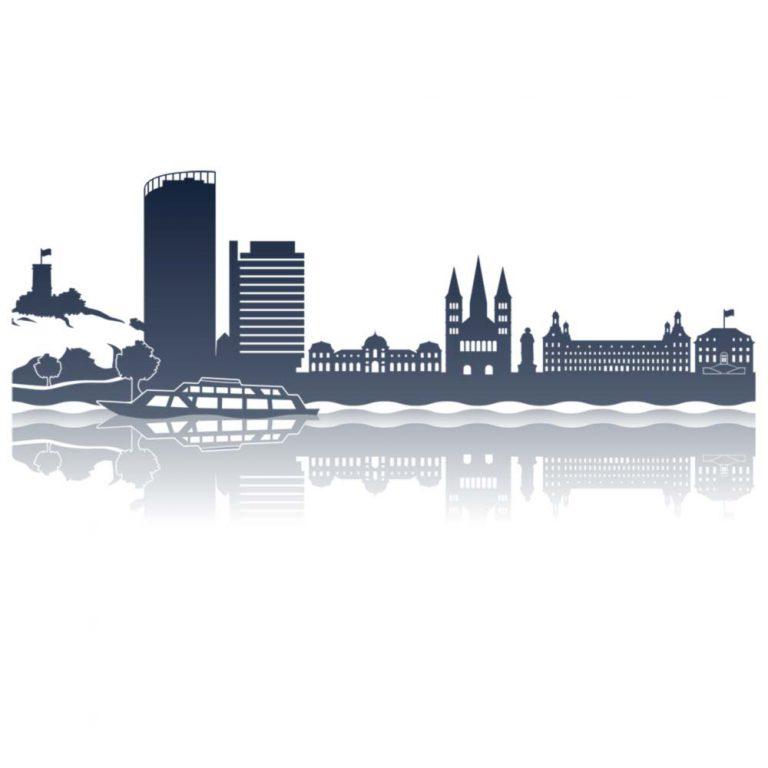 Skyline Bonn ohne Schriftzug