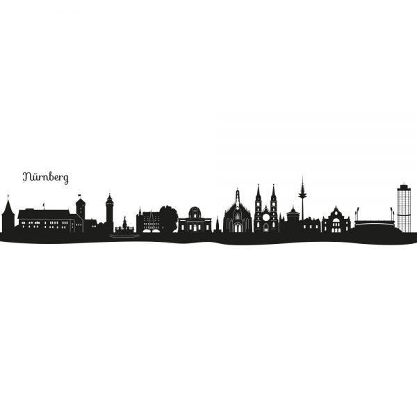 Skyline von Nürnberg