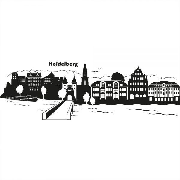 Skyline von Heidelberg