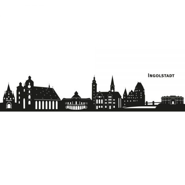 Skyline von Ingolstadt