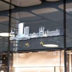 Skyline Bonn als 3D Werk an Wand
