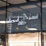 Hamburger Skyline als 3D Werk