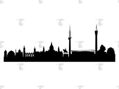 Skyline Hannover Grafik