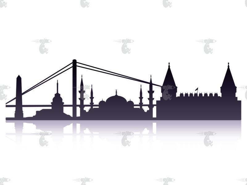 Skyline Istanbul Grafik