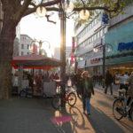 Kölner Innenstadt Fußgängerzone