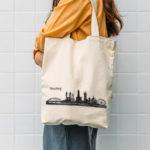 Straubing Skyline auf Tasche